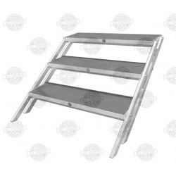 """Stage steps For All-Terrain Height Adjustable Stage (Works When Stage Is Set-Up At 24"""" Or 32"""" Heights)"""