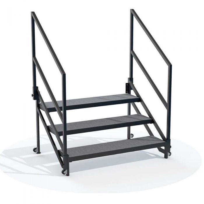 """QUICKLOCK  Fixed Stair Package for 32"""" High Stage"""