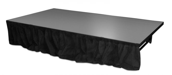 """Staging 101 - 8' x 16"""" Skirt"""